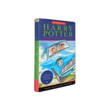 Harry Potter and the Chamber of Secrets by J.K. Rowling First Edition First Imp Bloomsbury 1998